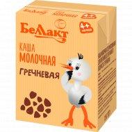 Каша «Беллакт» гречневая, молочная, 207 г