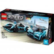 Конструктор «LEGO» Speed Champions, Jaguar Racing GEN2 & Jaguar I-Pace
