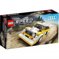 Конструктор «LEGO» Speed Champions, 1985 Audi Sport quattro S1