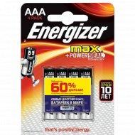 Батарейка «Energizer» Max LR03AAA BP 4 RU.