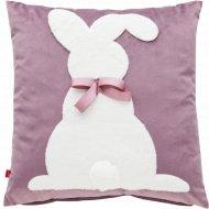 Наволочка декоративная «Home&You» Rabbitino, 59818-FIO-P0404-WN