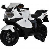 Электромотоцикл «BMW» белый, 283