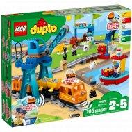 Конструктор «LEGO» Duplo Town, Грузовой поезд