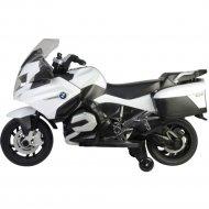 Электромотоцикл «BMW» R 1200 RT Motorcycle 12V E, бело-черный, 213
