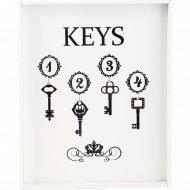Ключница «Keys» 32х26х3 см.