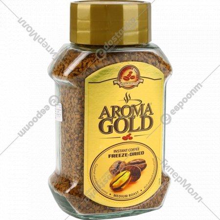 Кофе растворимый «Aroma Gold» сублимированный, 200 г.
