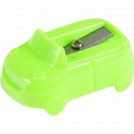 Точилка «Машинка» пластиковая, SHCR-4515.