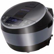 Мультиварка «Endever» Vita 100, черная/сталь.