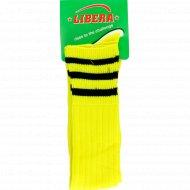 Гетры цветные «Libera» желтые.