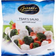 Смесь овощная «Bauer» царский салат, быстрозамороженный, 400 г