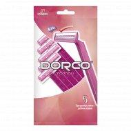 Бритва одноразовая женская «Dorco» TG-708, 5 шт, 2 лезвия.