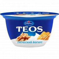 Йогурт «Греческий Teos» грецкий орех и мед, 2%, 140 г.