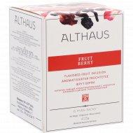 Напиток чайный «Althaus Pyra Pack» фрут берри, 15 пакетиков.