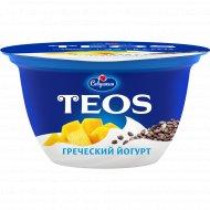 Йогурт «Греческий Teos» манго-чиа, 2%, 140 г.