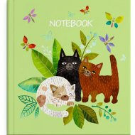 Записная книжка «Ноутбук» 50737, 105х105 мм, 48 листов.