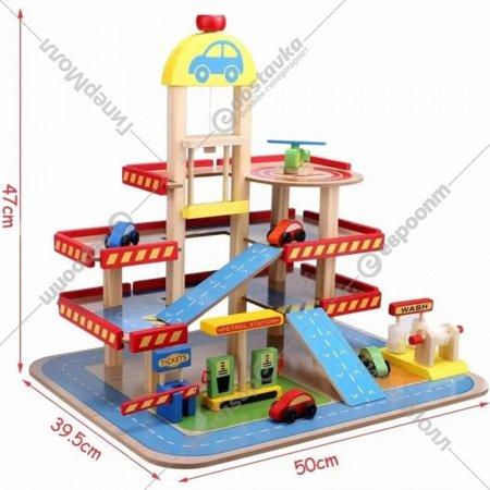 Гараж с машинками «Eco Toys» HM013290