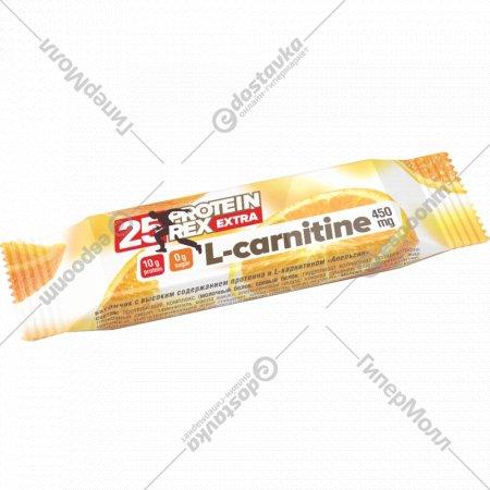 Батончик с L-карнитином «Protein Rex» апельсин, 40 г.