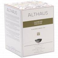 Чай зеленый «Althaus Pyra Pack» жасмин делюкс, 15 пакетиков.