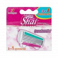 Сменные кассеты для бритвы «Dorco» Shai Reina, 3+1 Бесплатно, 4 лезвия.
