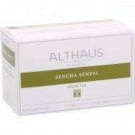 Чай зеленый «Althaus Deli Packs» Сенча Сенпай, 20 пакетиков.