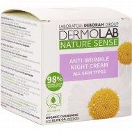 Крем «Deborah» Dermolab, Nature Sense, ночной, против морщин, 50 мл