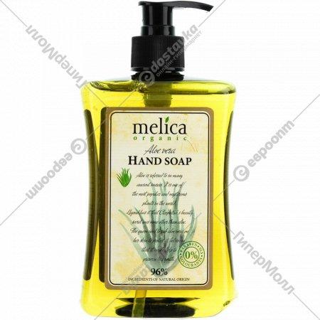 Мыло жидкое «Melica» для рук, с экстрактом алоэ, 500 мл.