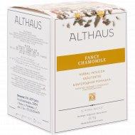 Чайный напиток «Althaus Pyra Pack» благородная ромашка, 15 пакетиков.