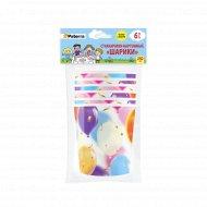 Бумажные стаканы «Paterra» шарики, 250 мл, 6 шт. в упаковке.