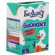 Продукт кисломолочный «Беллакт» Персик-Злаки, 2.9%, 210 г.