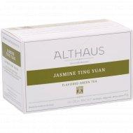 Чай зеленый «Althaus Deli Packs» жасмин тинг юань, 20 пакетиков.