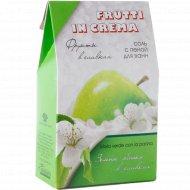 Соль с пеной «Frutti in Crema» для ванн, яблоко в сливках, 500 г.