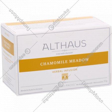 Чайный напиток «Althaus Deli Packs» ромашковый луг, 20 пакетиков.