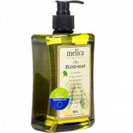 Мыло жидкое «Melica» для рук, с экстрактом оливы, 500 мл.