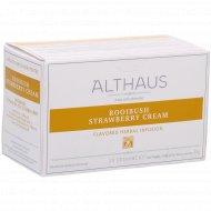 Чайный напиток «Althaus» клубника со сливками, 20 пакетиков.