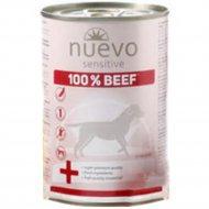Консервы для собак «Nuevo» Sensitive, с 100% говядиной, 400 г