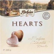 Конфеты «Belgian Legend» в форме сердечек, 200 г