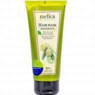 Маска для волос «Melica» с экстрактами оливы и лопуха, 200 мл.