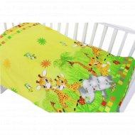 Комплект постельного белья «Топотушки» Африка, 3 предмета, желтый.
