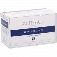 Чай черный «Althaus Deli Packs» Ройал Эрл Грей, 20 пакетиков.