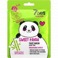 Маска для лица «Sweet Panda» выравнивание тона, 38 мл.