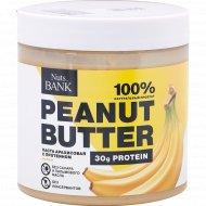 Арахис обжаренный «NutsBank» тертый с протеином, банан, 500 г