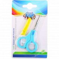 Ножницы «Canpol babies» с чехлом, 1 шт.