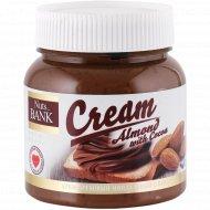 Крем ореховый миндальный «Nuts Bank» с какао, 250 г
