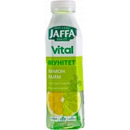 Напиток сокосодержащий «Jaffa» Vital, лимон-лайм, 0.5 л.