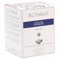 Чай черный «Althaus Pyra Pack» инглиш супериор, 15 пакетиков.
