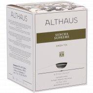 Чай зеленый «Althaus Pyra Pack» сенча суприм, 15 пакетиков.