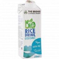 Напиток рисовый «The Bridge» с кокосом, органический, 250 мл
