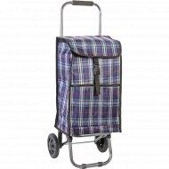 Тележка хозяйственная с сумкой JX-D2 «Клетка» 1,3 кг.