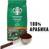 Кофе молотый «Starbucks» House Blend, средняя обжарка, 200 г.