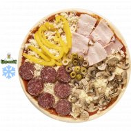 Пицца от Шефа «Четыре сезона» 1/500 г.